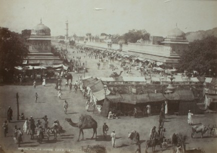 Photos from Jaipur, 1880-1920 (Image Source: Columbia University)