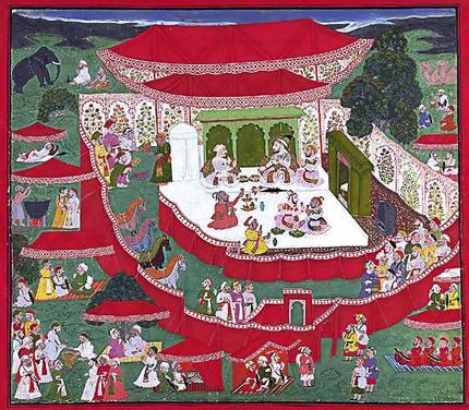 Jai Singh's Camp at Sanganer