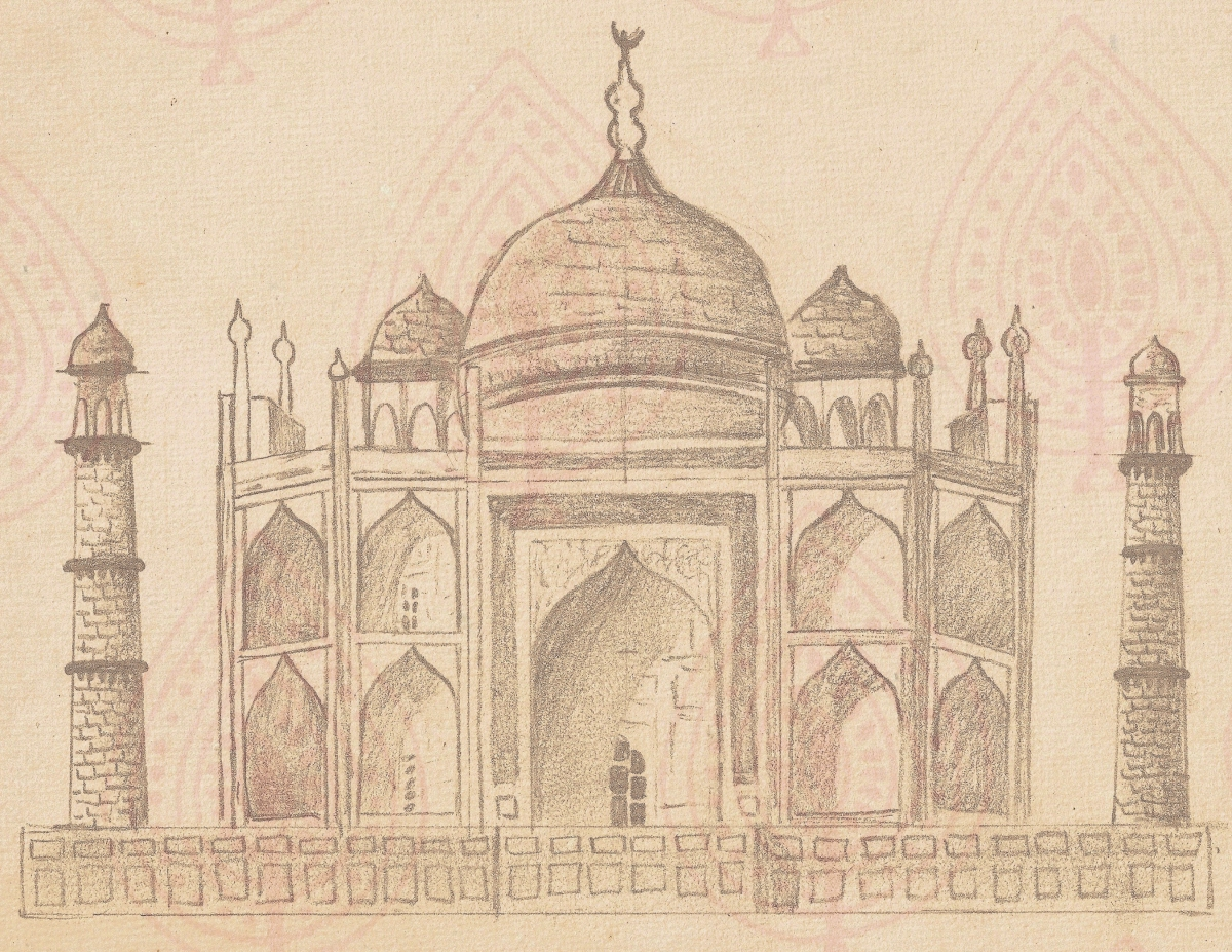 the history behind the taj mahal yali books